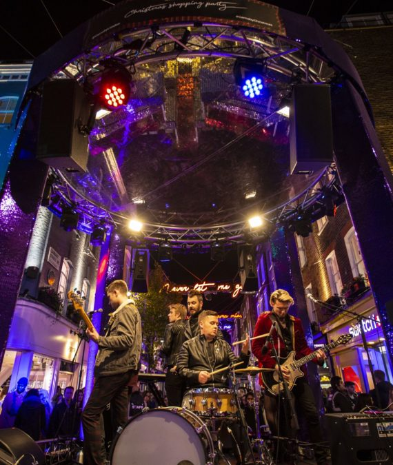 Carnaby Street Christmas Shopping Event 116