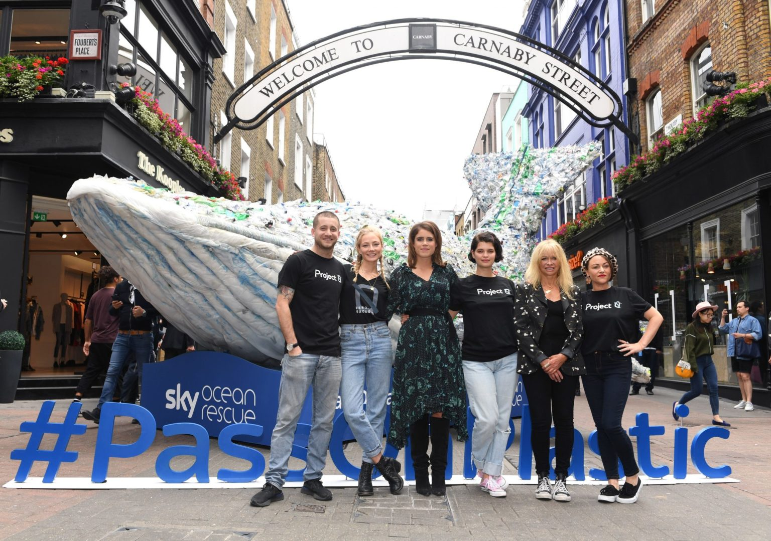 World Oceans Day - Carnaby Street