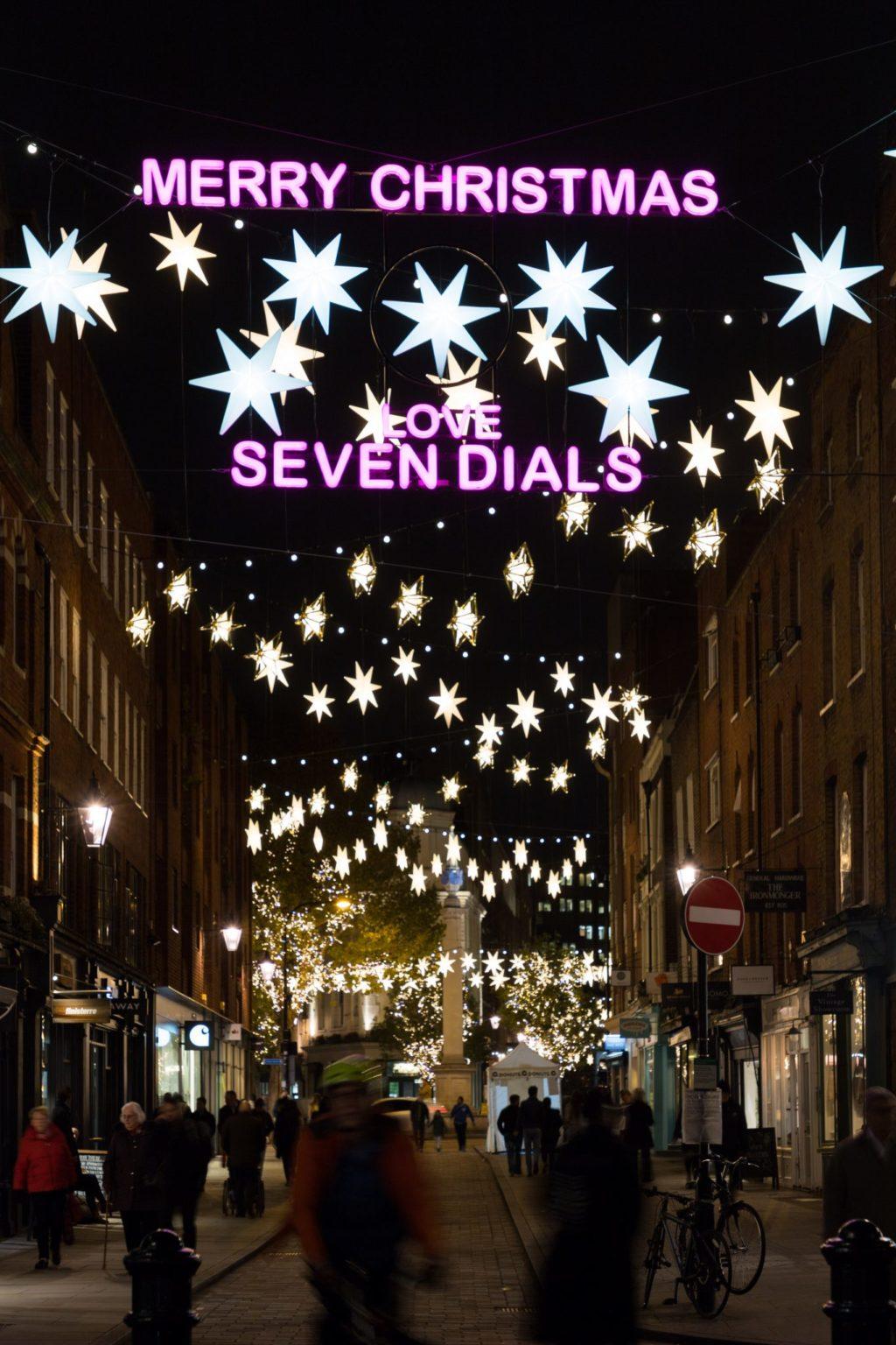 Raccoon London - Hikaru Funnell - Sister London - Seven Dials - Christmas Light Test - 06-11-2019 - 4