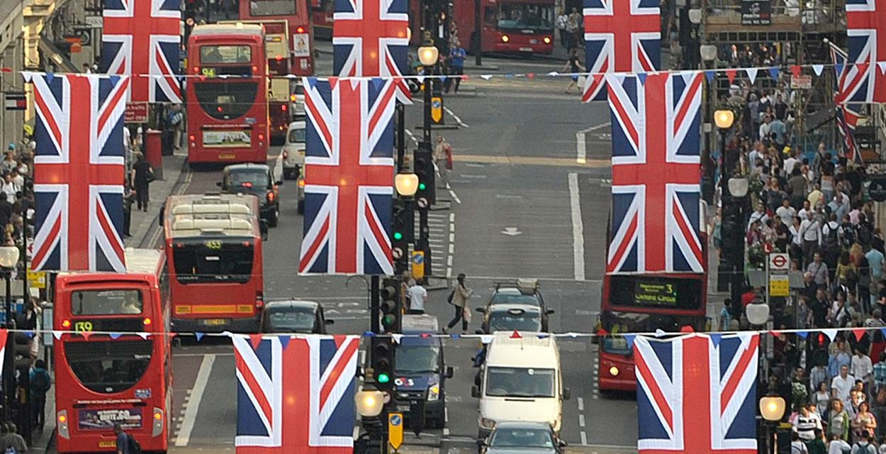 Regent Street Flags